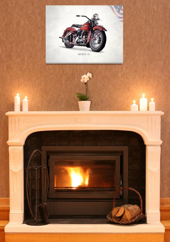 """Harley Model UL 1941&quot  (2015) by mark-rogan"