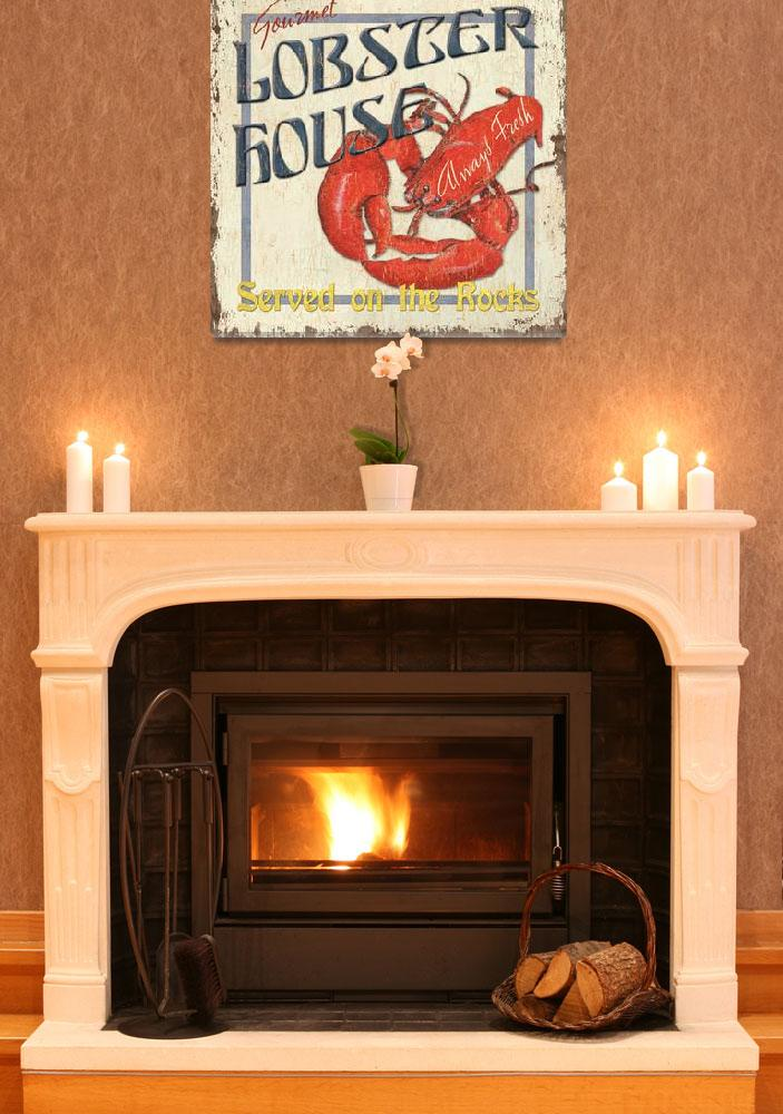 """Lobster House&quot  (2010) by DebbieDeWitt"