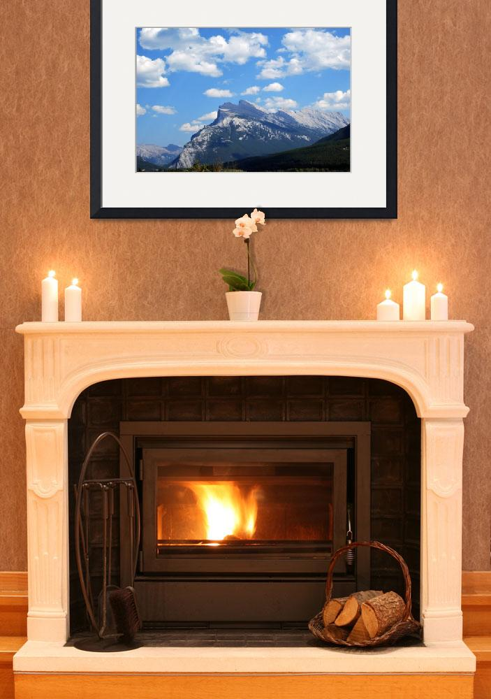 """""""Mount Rundle Banff National Park Alberta Canada&quot  by MarculescueugeniancuD60AK"""