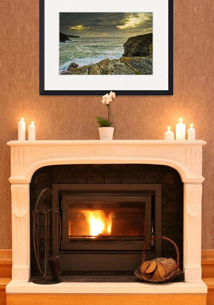 """""""Port Gaverne Cornwall&quot  (2009) by davidwilkins95"""