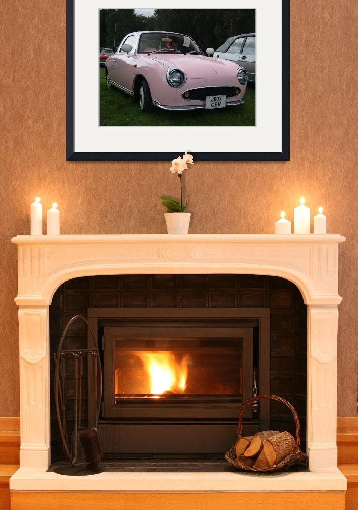 """""""Nissan Figaro Convertible&quot  (2008) by imagetaker"""