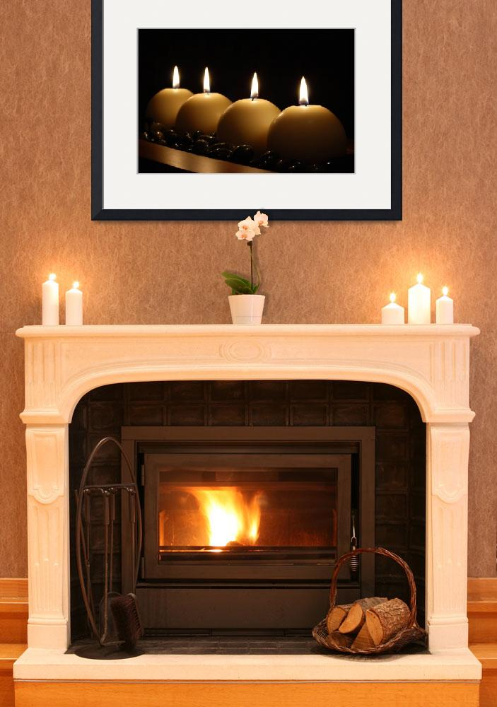"""""""Fire, wood & stone&quot  by ldcross"""