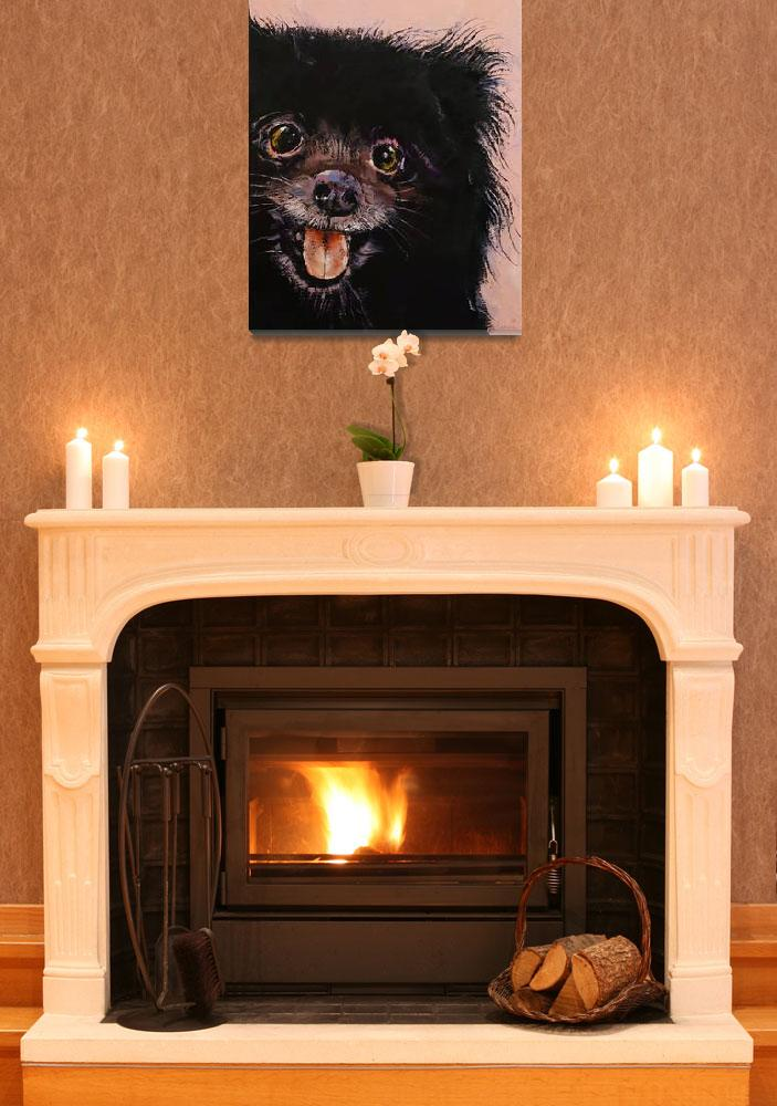 """""""Black Pomeranian&quot  by creese"""
