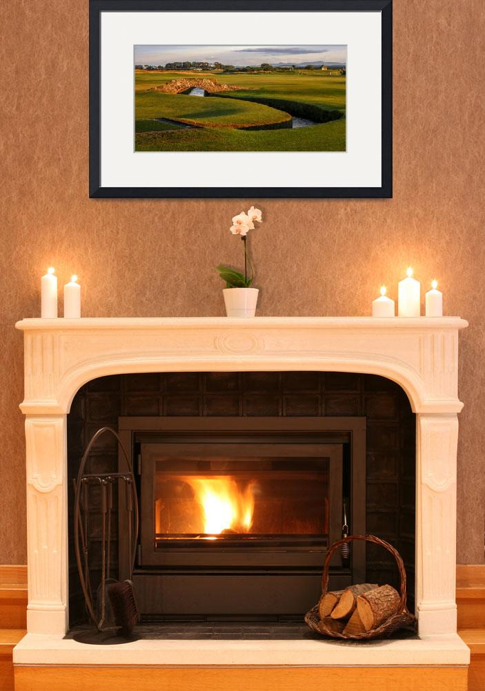 """St. Andrews Links Golf Course Swilcan Bridge 2""  (2004) by Richimage"