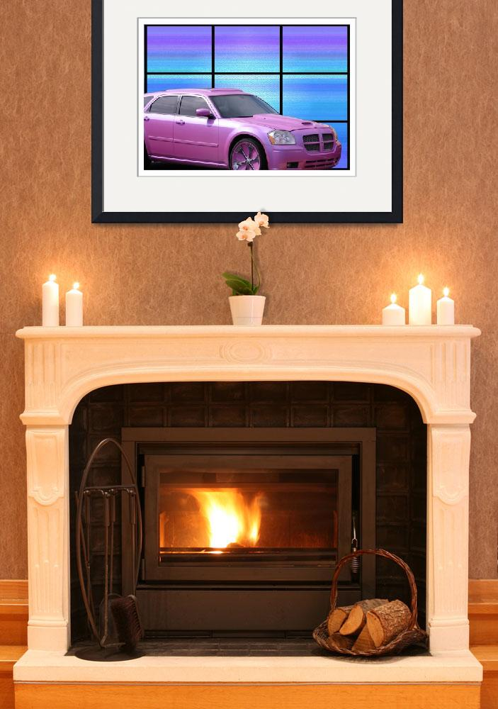 """""""Pink Dodge Magumn&quot  (2009) by barbee"""