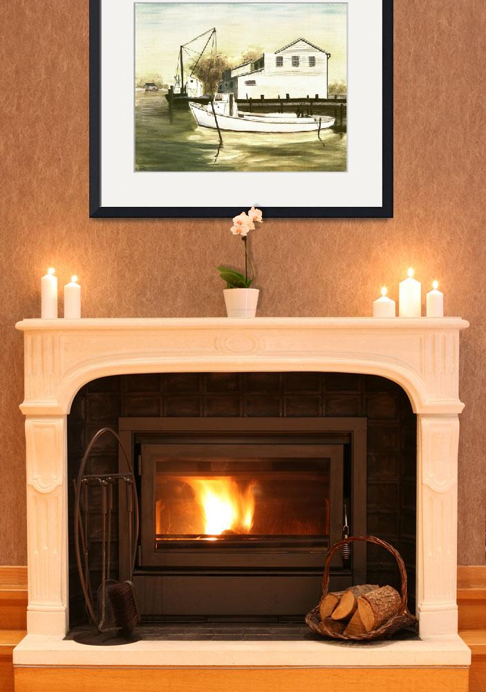 """FINE ART TRADITIONAL OIL PAINTING SOLOMONS ISLAND&quot  by grl"