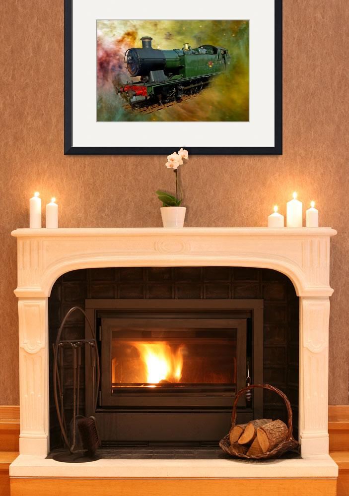 """""""GWR Tank 0-6-2, No. 5619,  of the North Norfolk Ra&quot  (2010) by loversdream"""