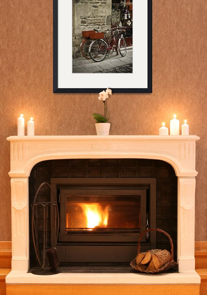 """""""bicycles,_dinan&quot  (2008) by mjphoto-graphics"""