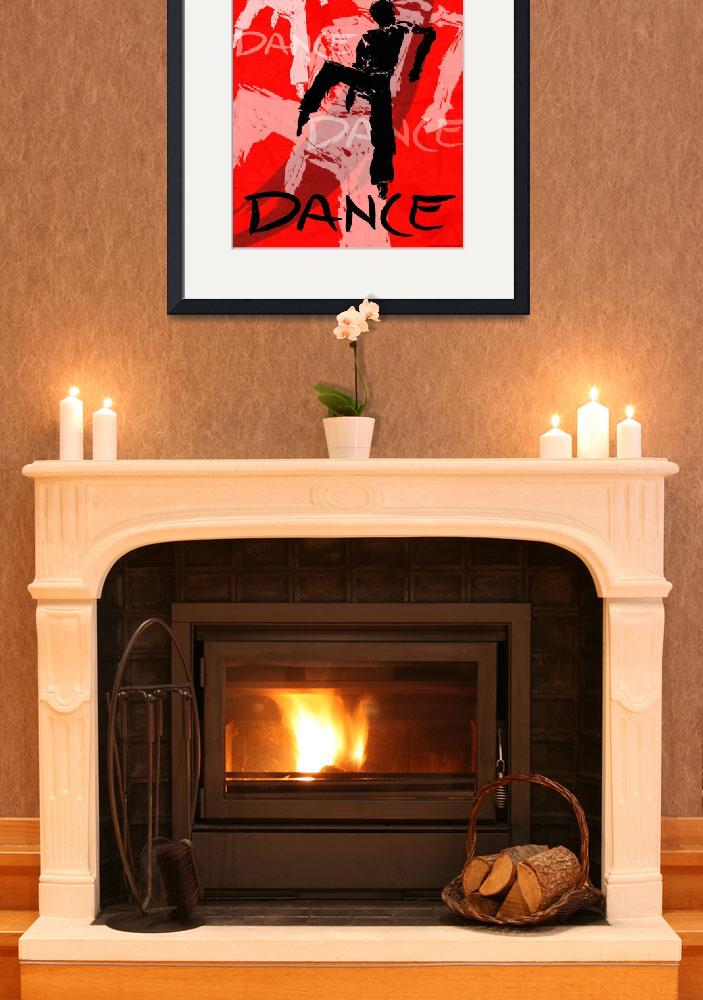 """""""Dance Poster 6""""  (2004) by CrystalCarey"""