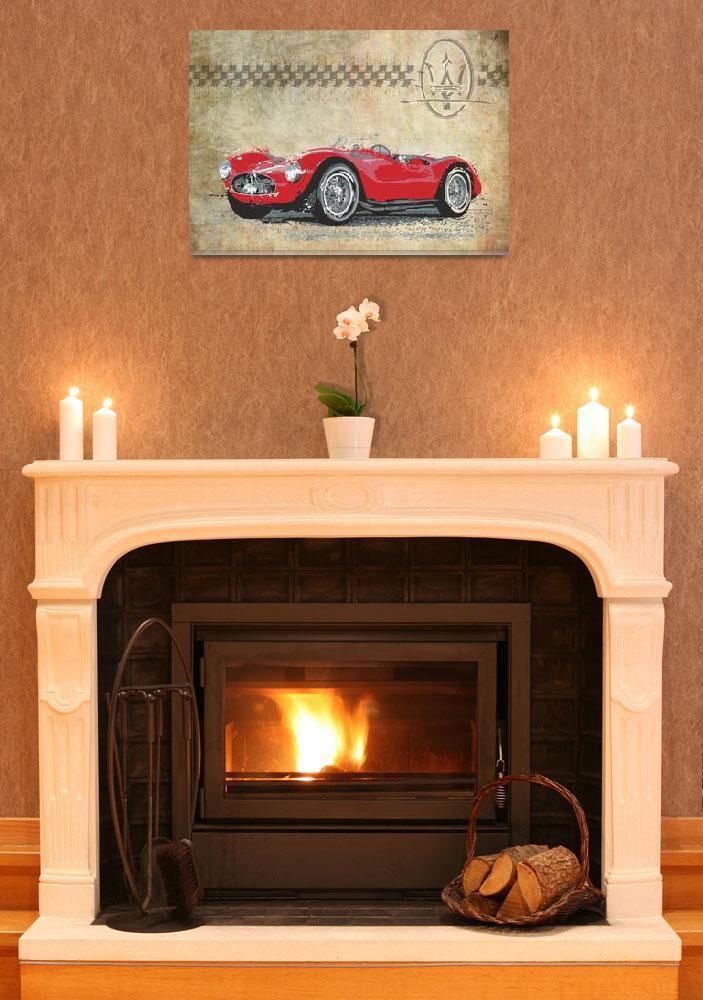 """Maserati A6 GCS""  (2012) by getshaped"