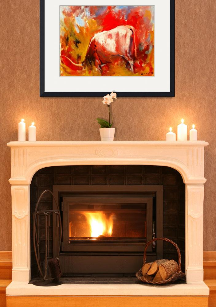 """""""On Fire""""  (2011) by DarinWood"""