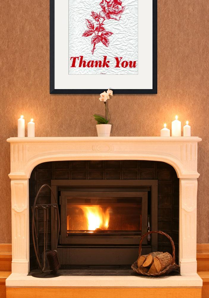 """""""thank you&quot  by amb"""