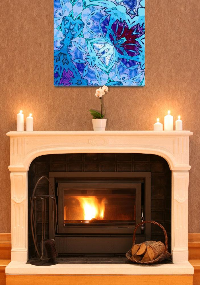 """""""Cool Blues 3&quot  (2010) by Chicagoartist1"""