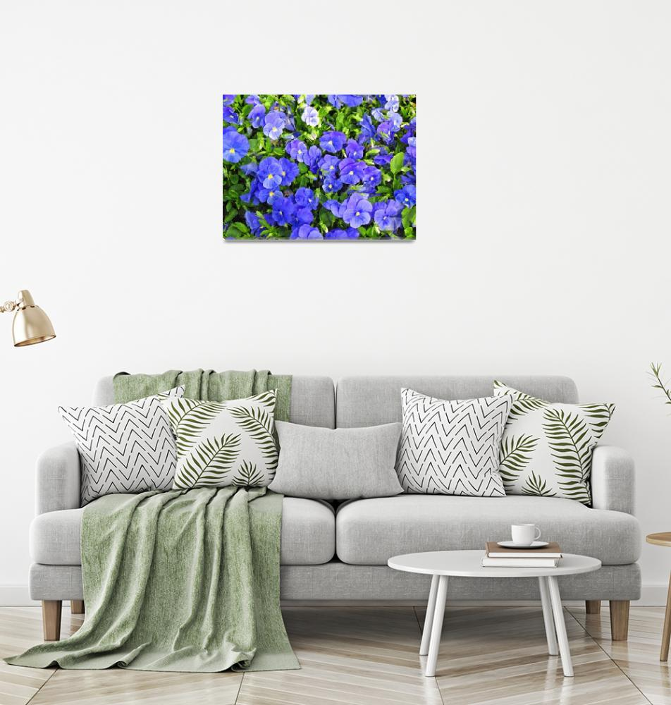 """""""blue pandy garden""""  by DonnaGrayson"""