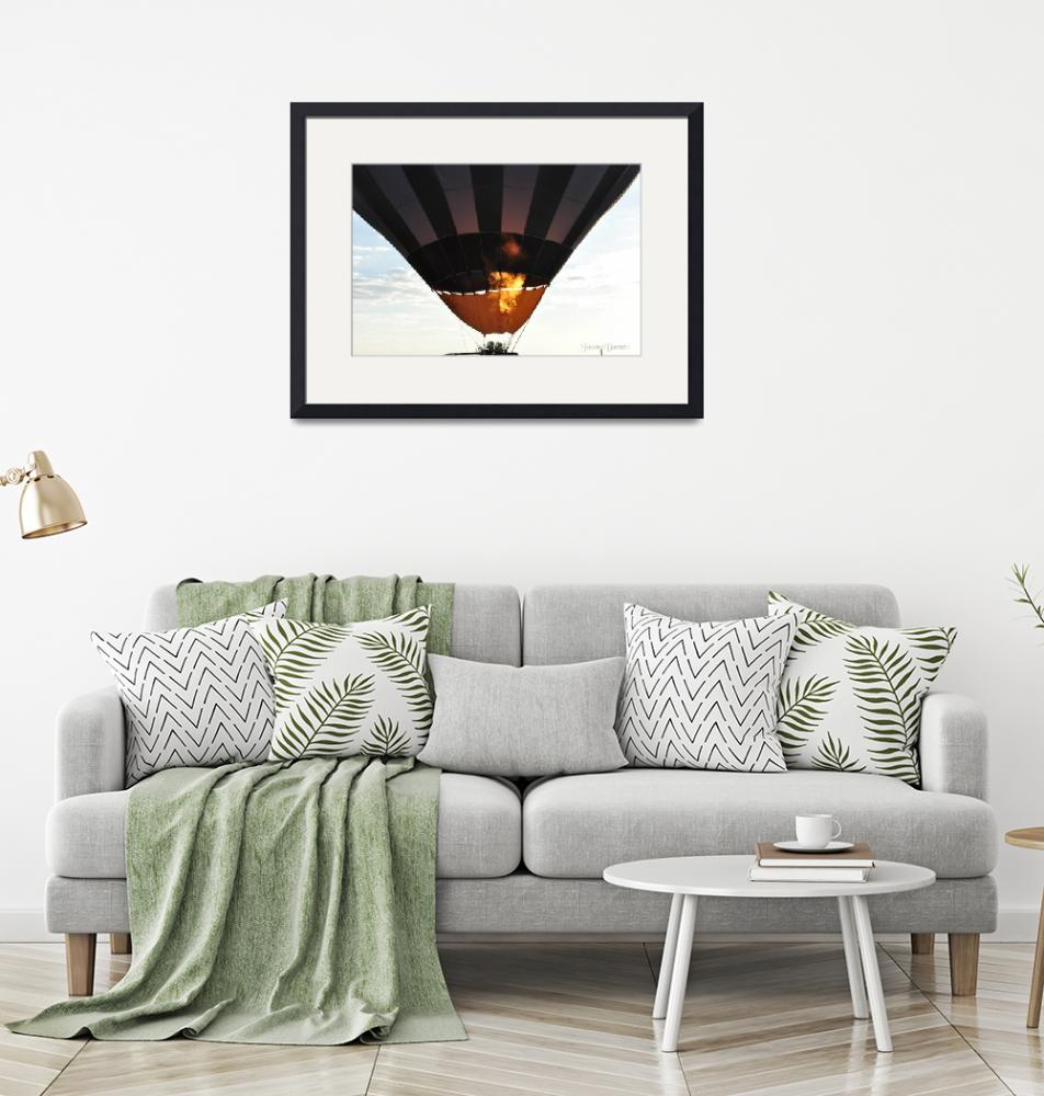 """""""Hot Air Balloon""""  (2012) by artographic66"""