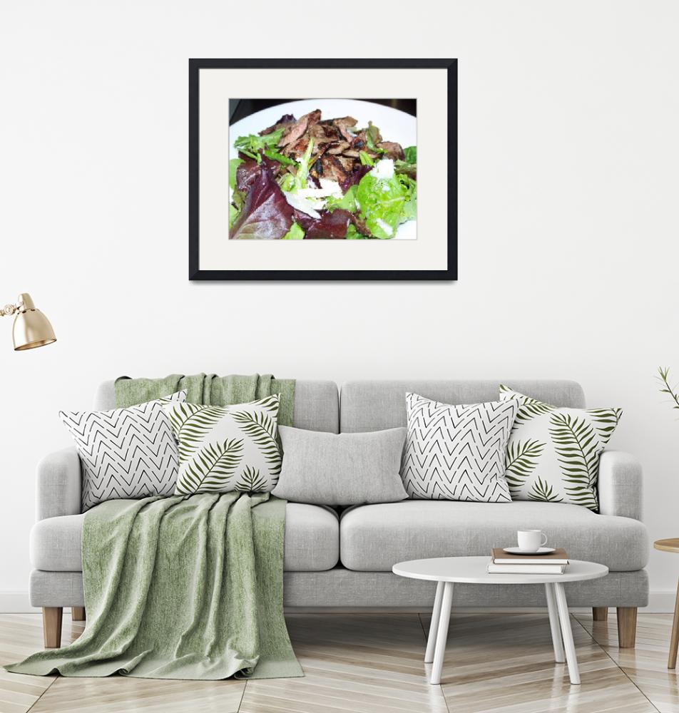 """""""Steak Salad""""  (2011) by hmexpressions"""