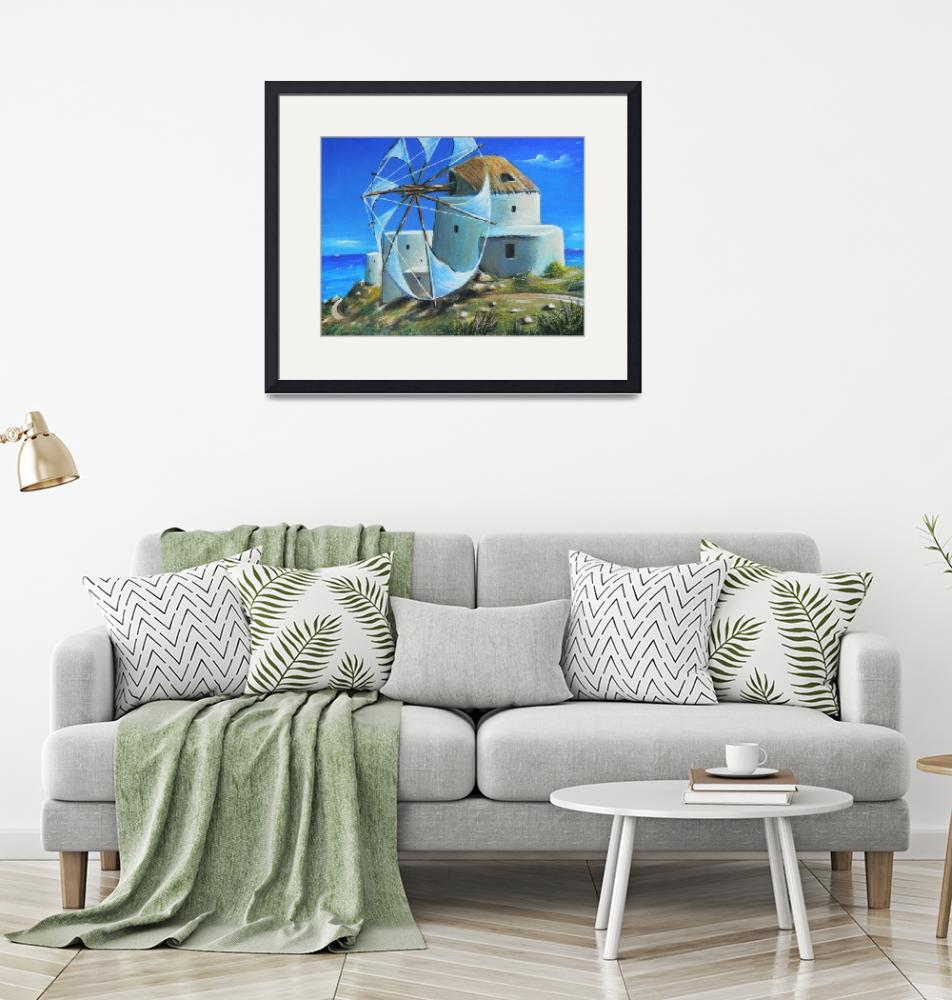 """""""Mill on the Hill""""  (2000) by sgnarts"""