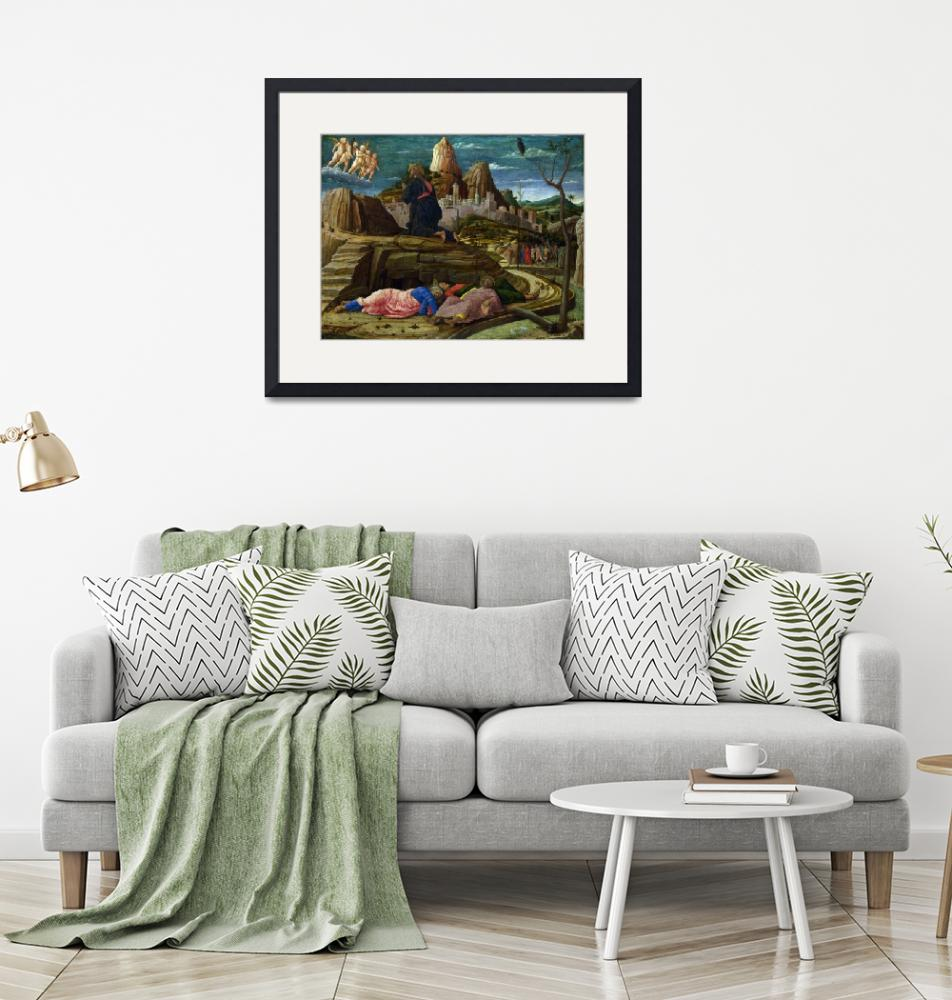 """""""The Agony in the Garden by Andrea Mantegna""""  by FineArtClassics"""