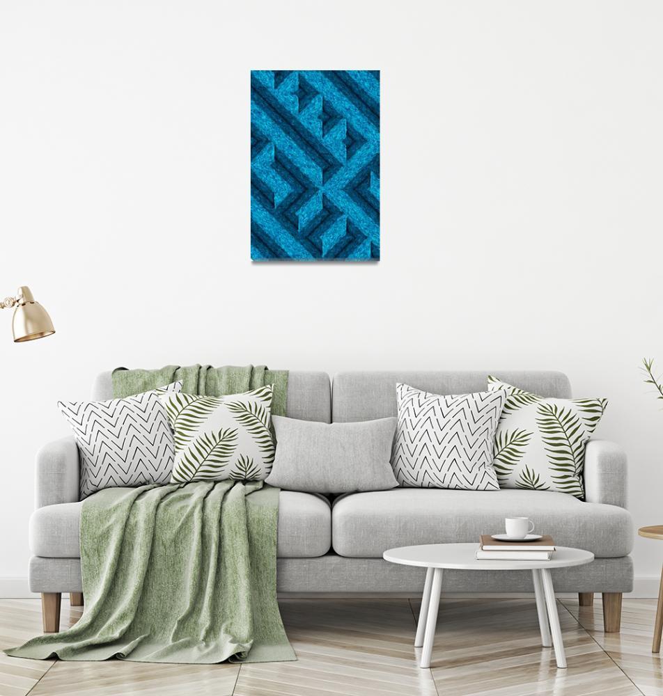 """impressionistic bricks""  by KrisLeov"