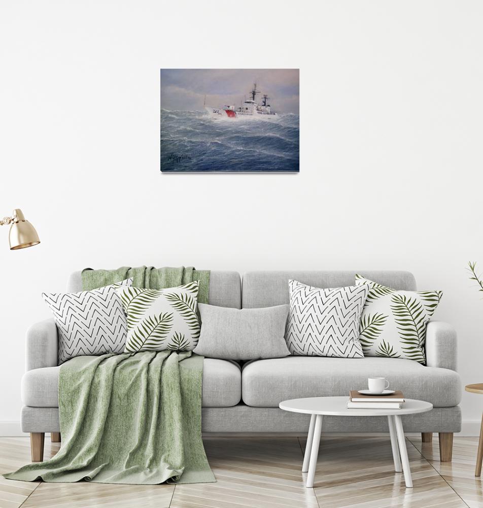 """U. S. Coast Guard Cutter Gallitin""  (2007) by realismbybill"