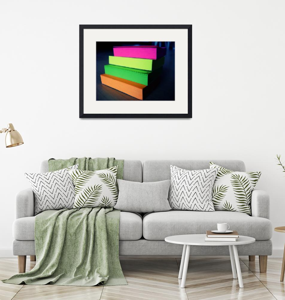 """""""Colourful Post Its""""  (2008) by lizmarionga"""