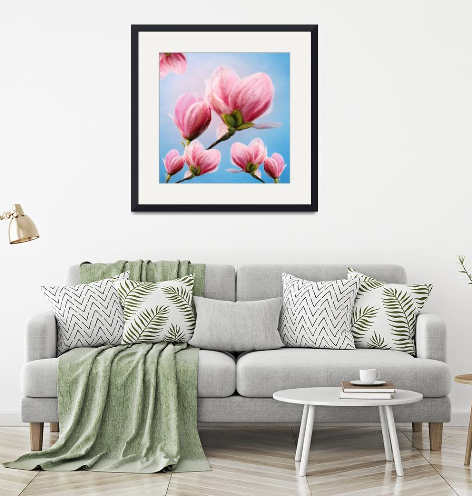"""""""Magnolia""""  (2018) by AnneVis"""