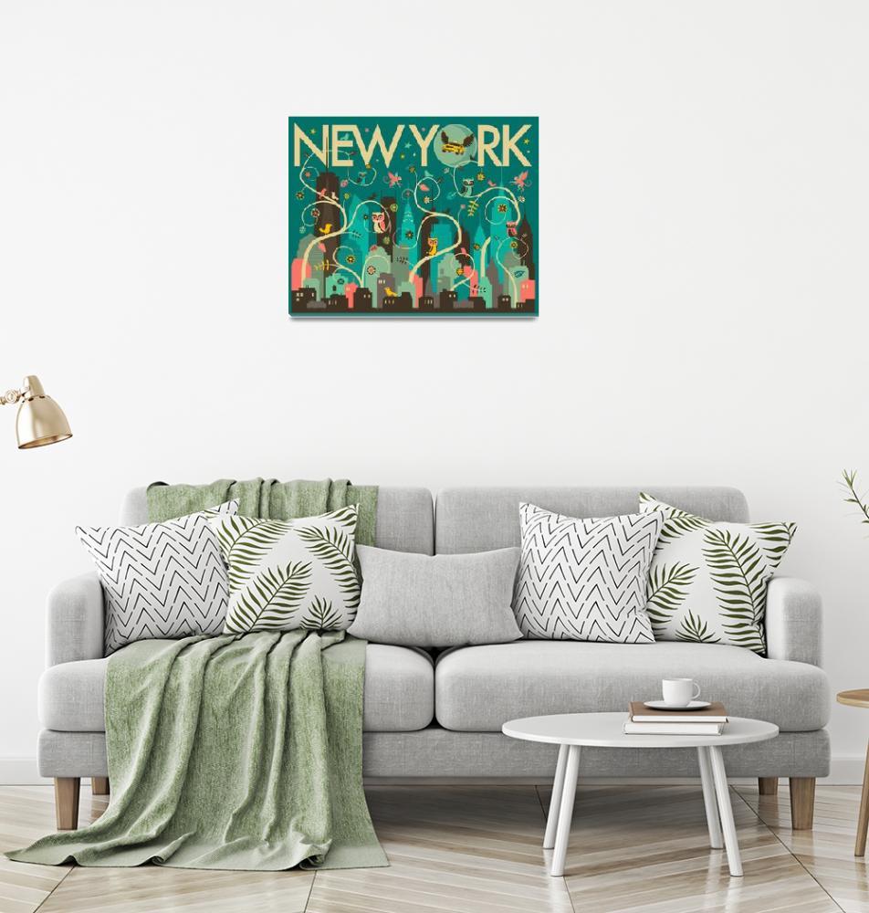 """""""Wild New York""""  by JazzberryBlue"""