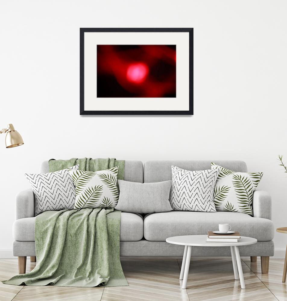 """""""Soft glowing red ball""""  (2012) by MikeMBurkeDesigns"""