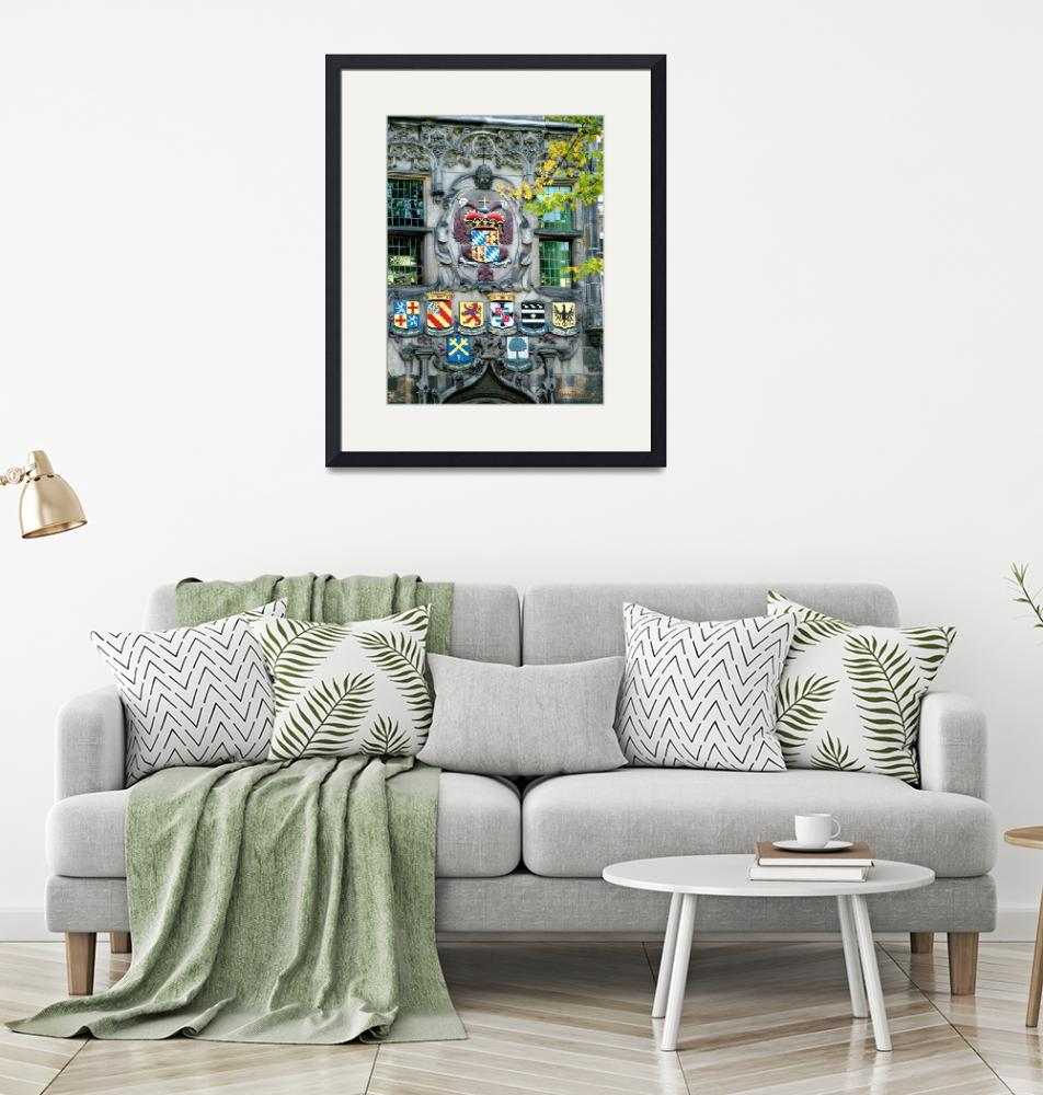 """""""City Crest of Delft""""  (2005) by nicoindo"""