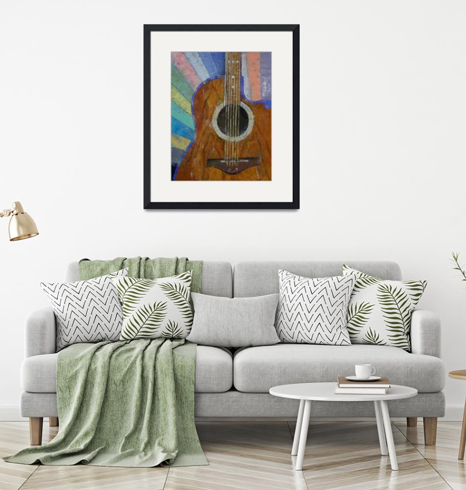 """""""Guitar Sunshine""""  by creese"""