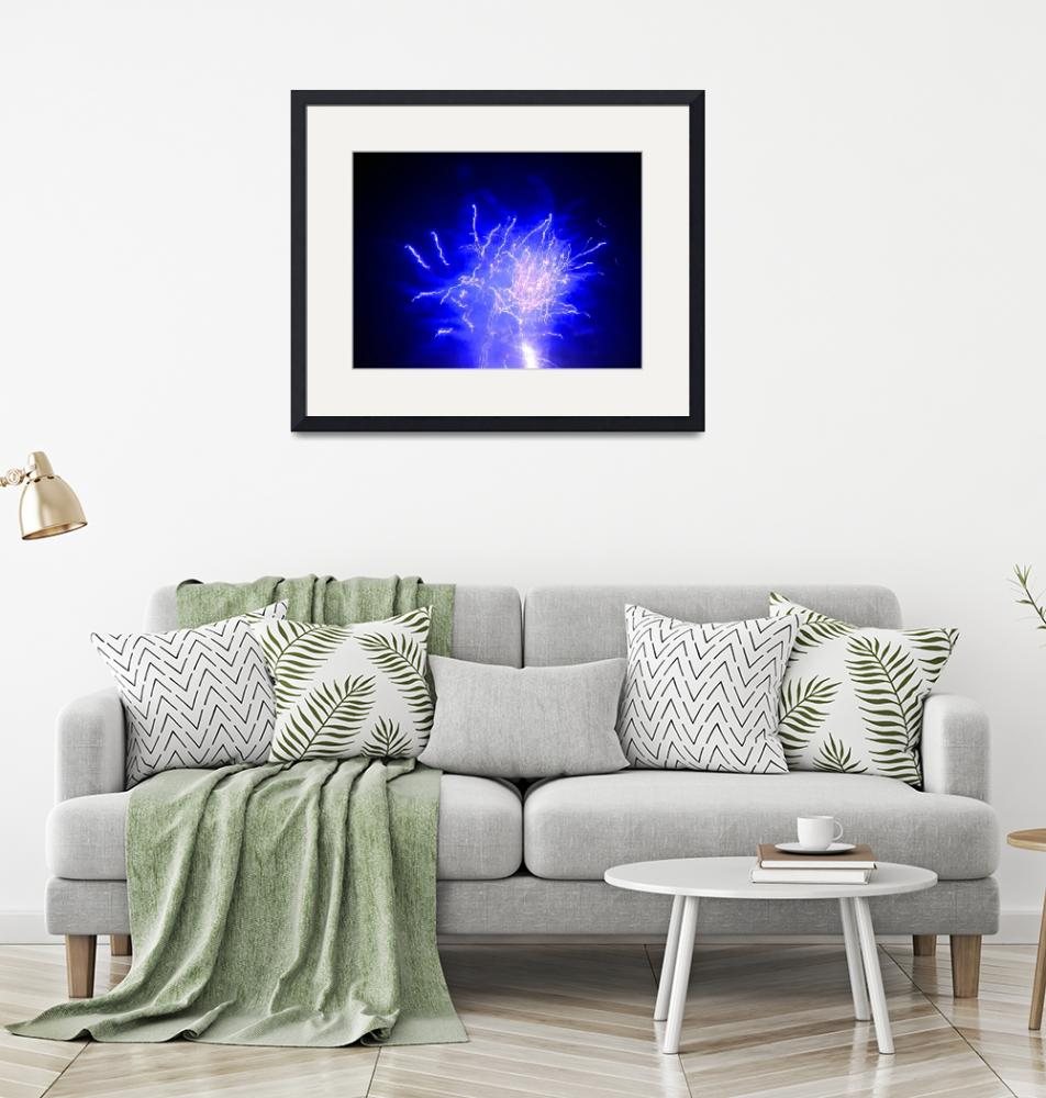 """""""blue fireworks""""  (2008) by callsage"""