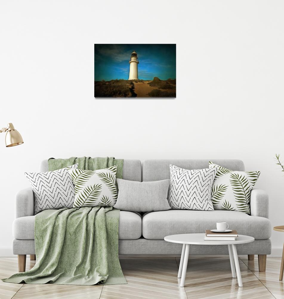 """Peninsula Lighthouse""  (2016) by alancarson"