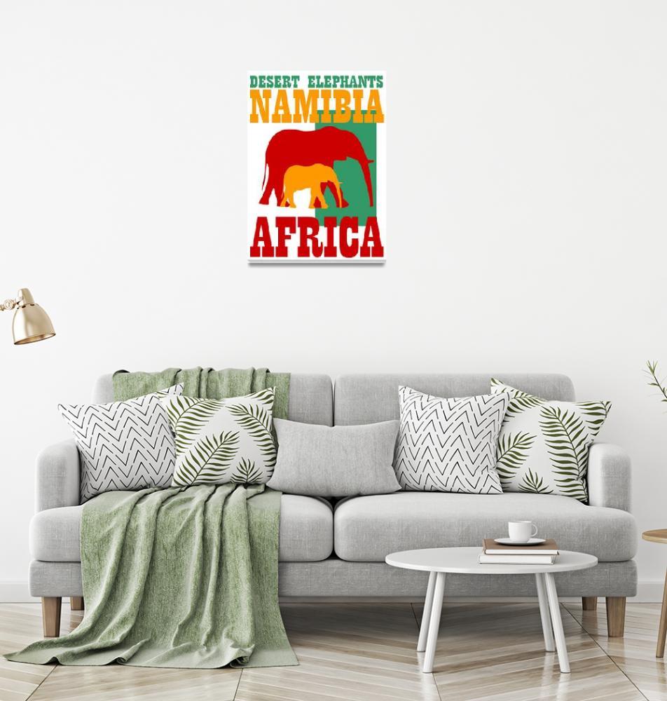 """DESERT ELEPHANTS""  (2017) by thegriffinpassant"