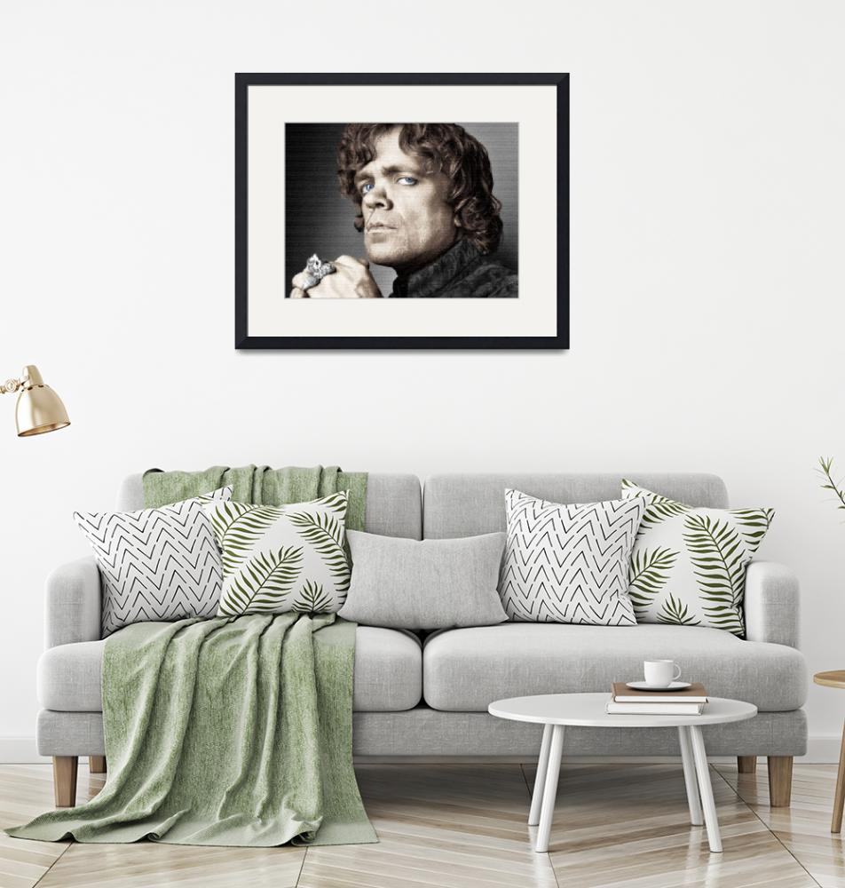 """""""Game of Thrones Tyrion Lannister Peter Dinklage""""  by RubinoFineArt"""