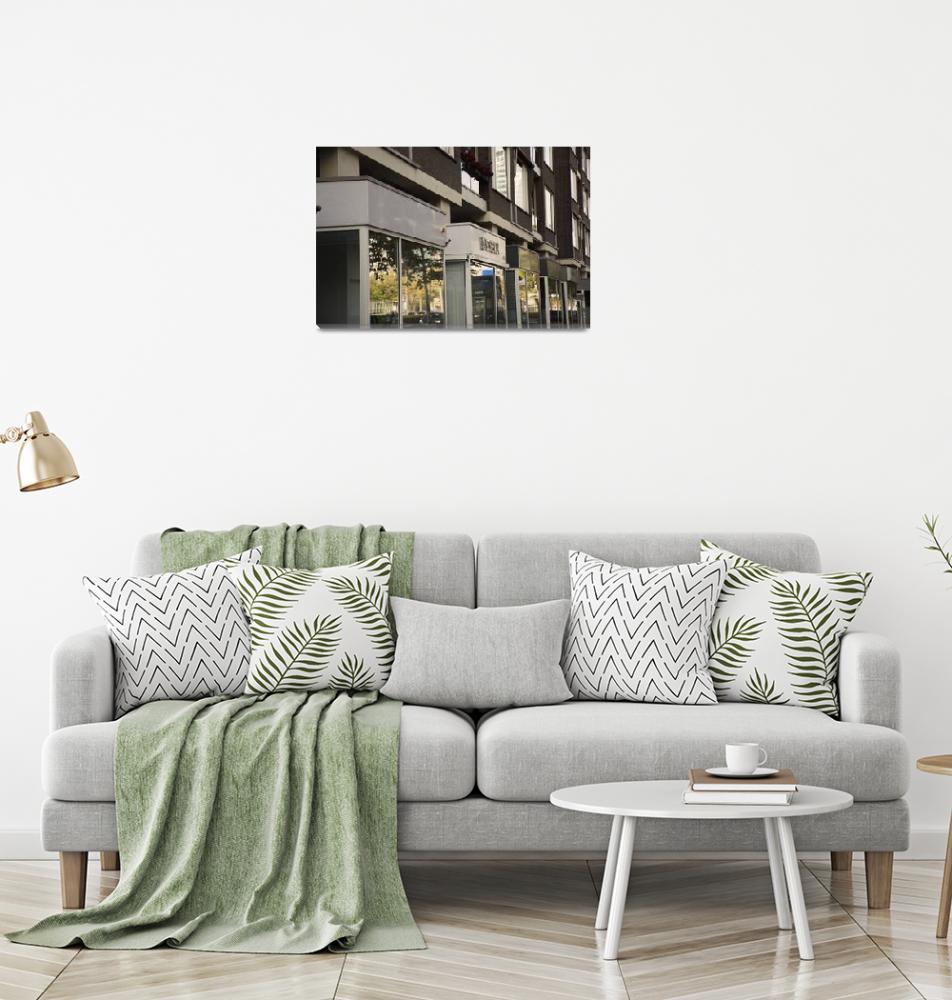 """Urban reflections""  (2019) by robertgrac"
