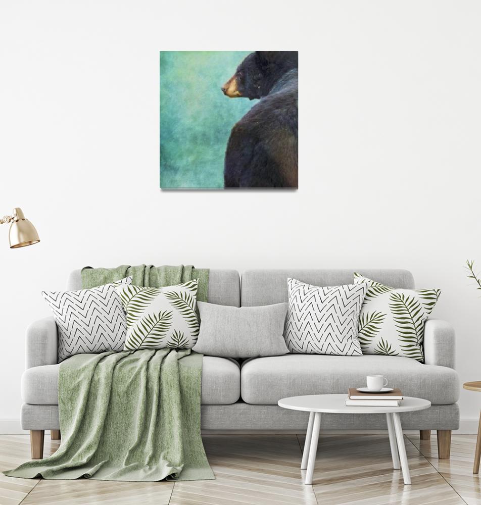 """""""Black Bears Bum""""  (2018) by Piri"""