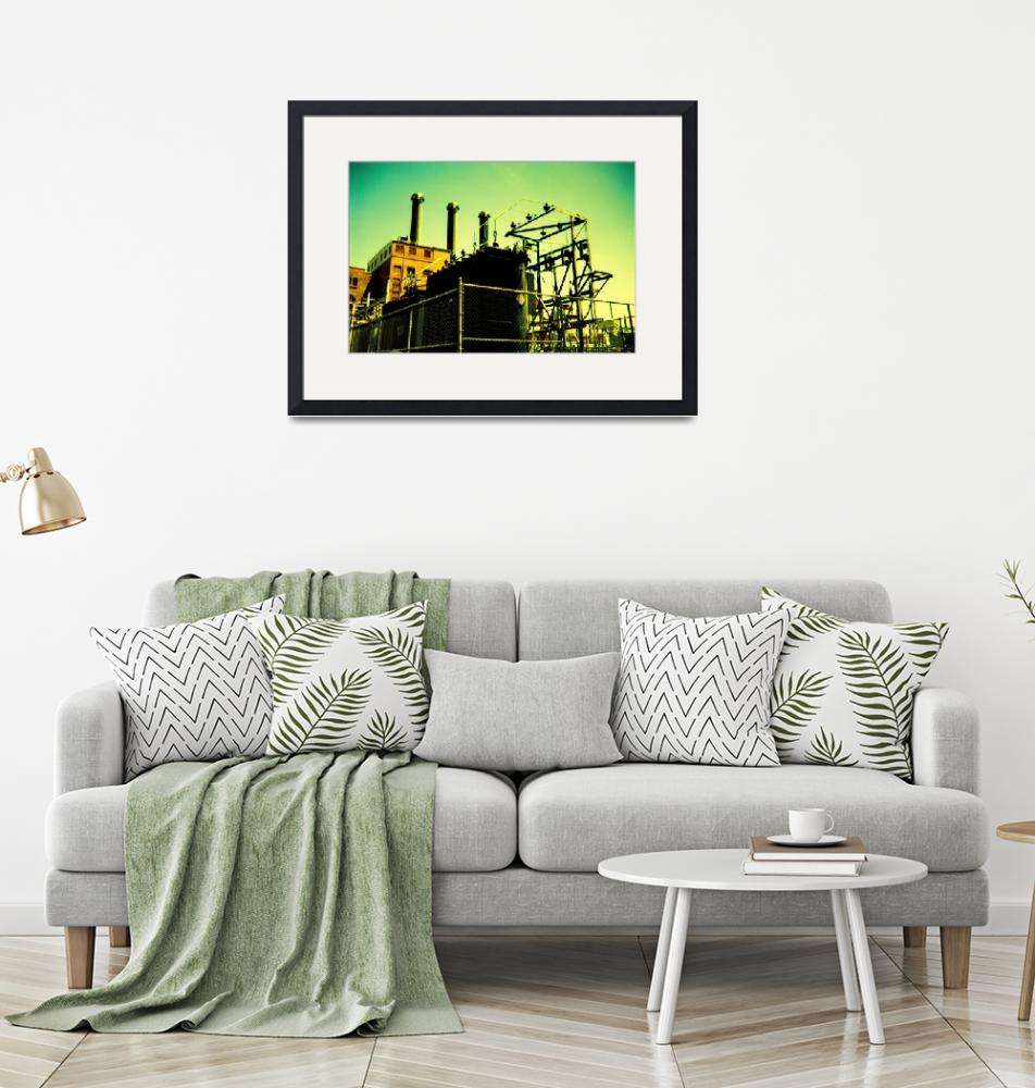 """Point Street Power Station""  (2007) by mylatehope"