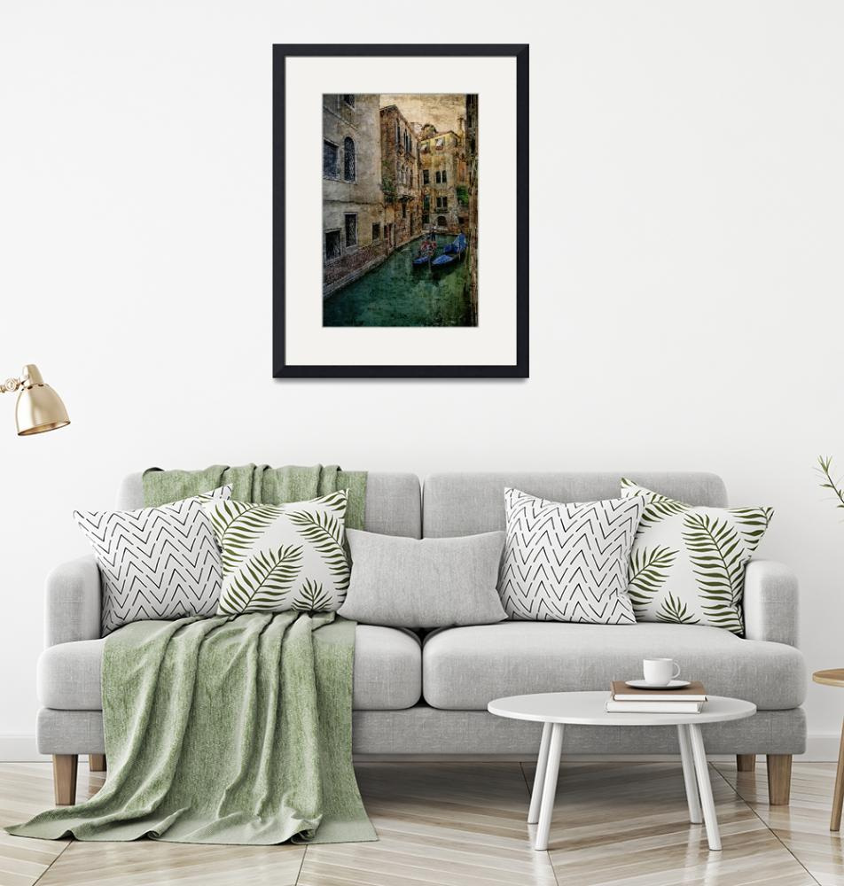 """""""Venice Backwater""""  (2008) by AnnG"""