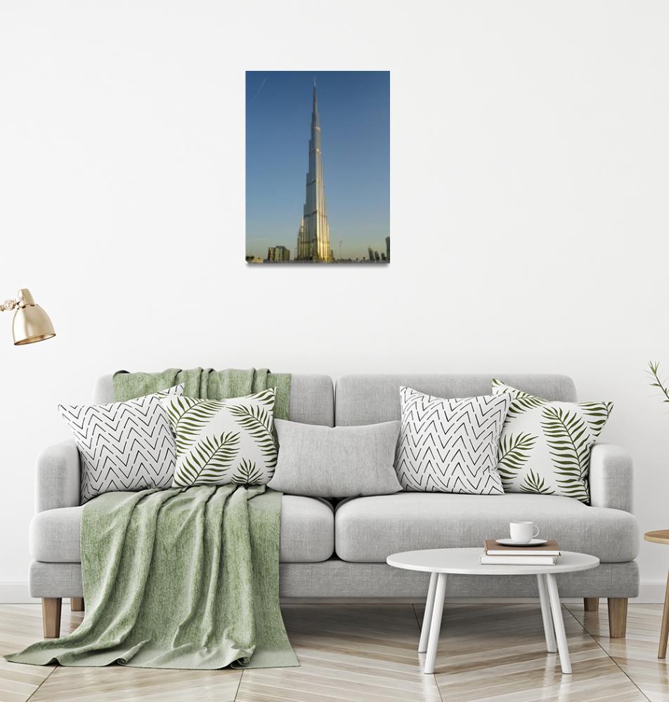 """Burj Khalifa""  (2010) by Aleta"