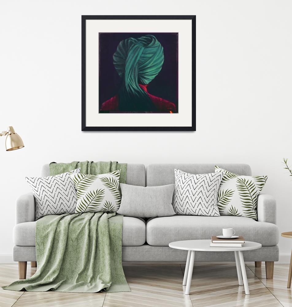 """""""Green Turban""""  by fineartmasters"""