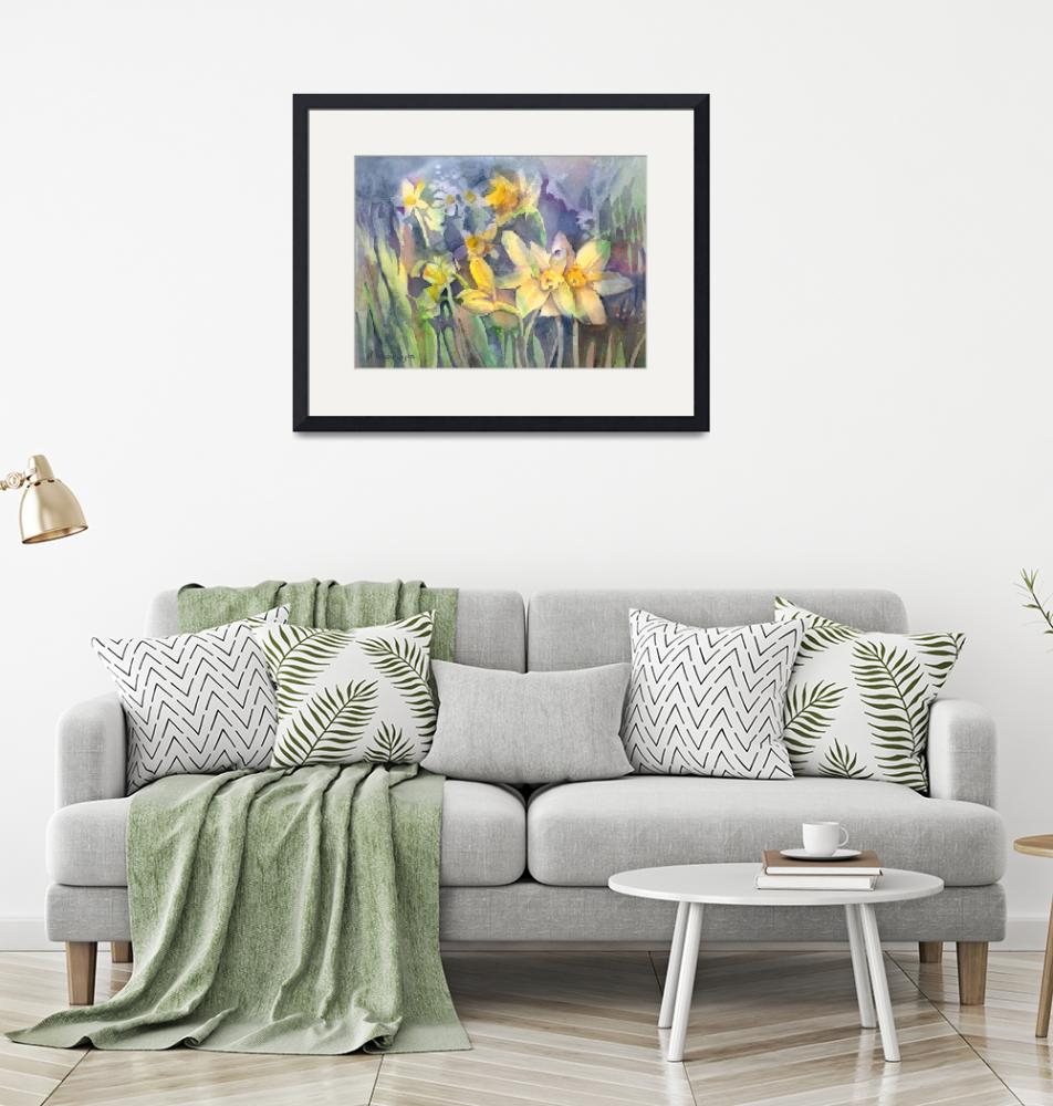 """Daffodils""  (2012) by awagner"