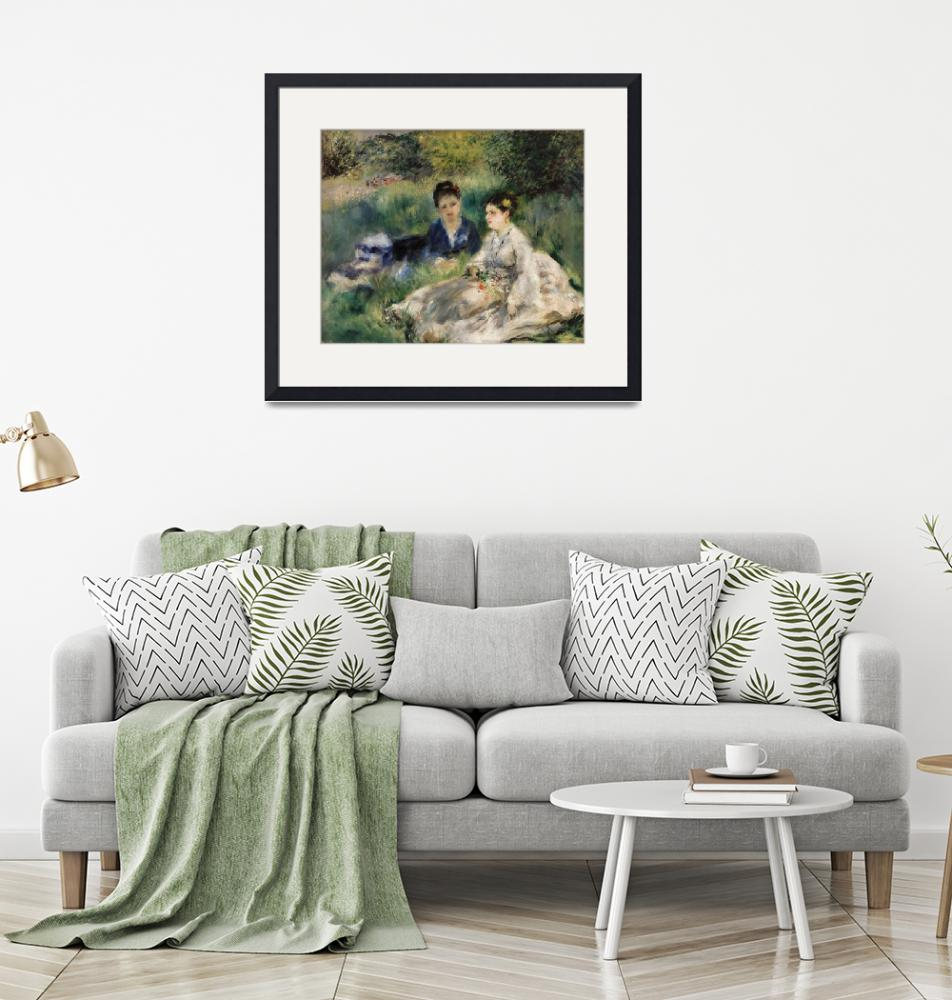 """""""On the Grass by Renoir""""  by FineArtClassics"""