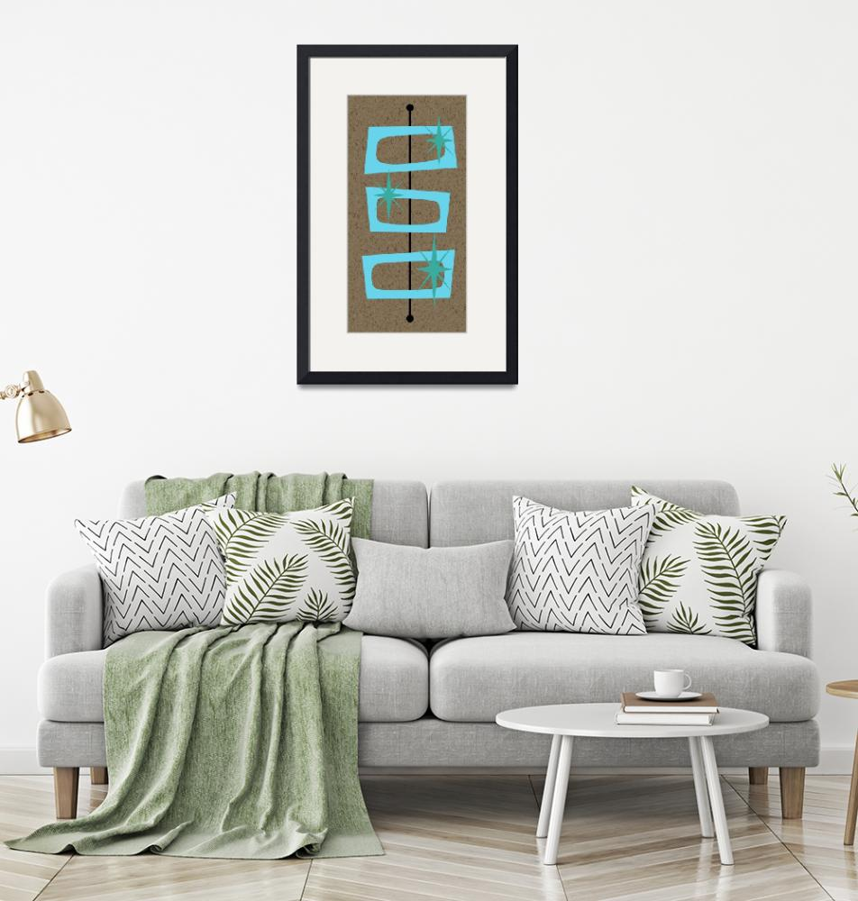 """""""Mid Century Modern Shapes 3""""  by DMibus"""