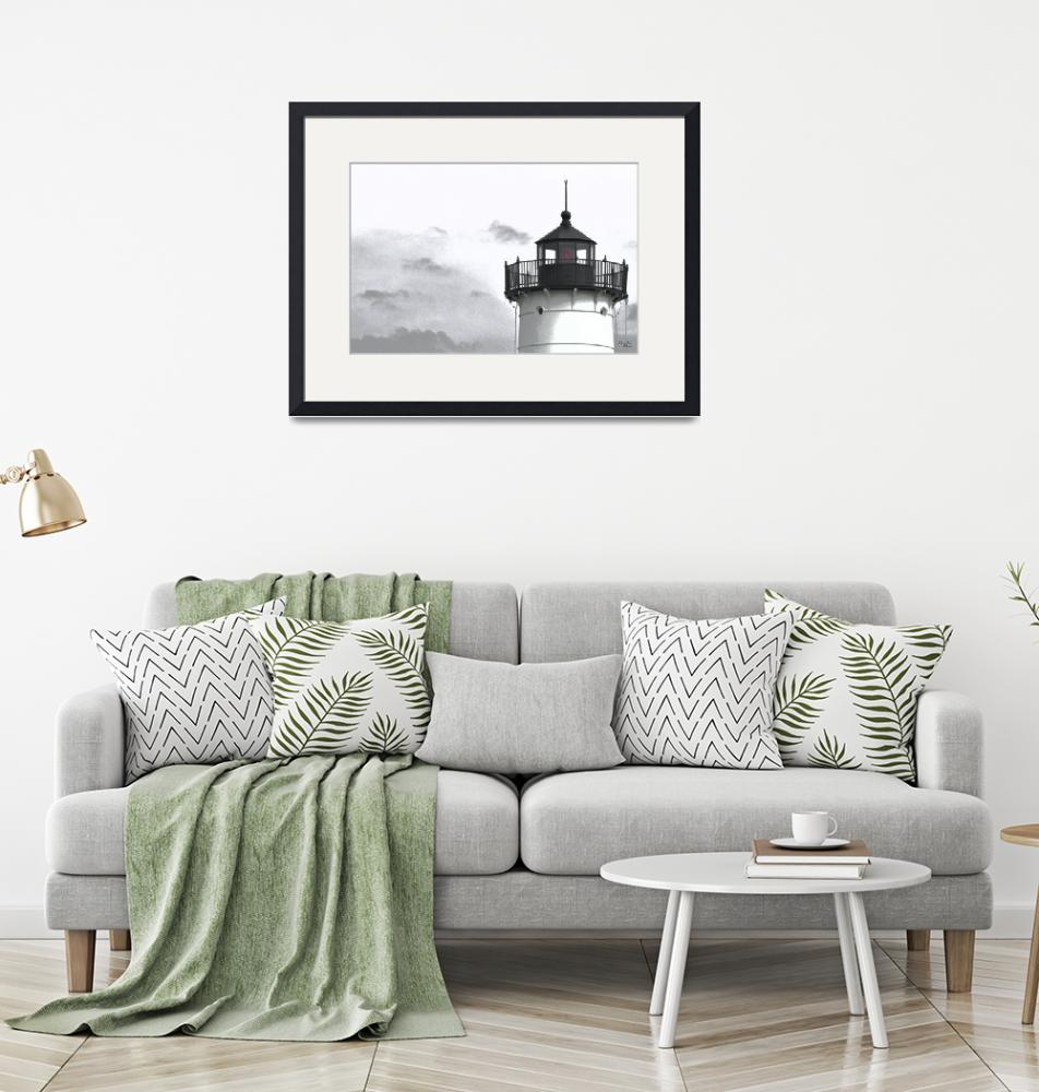 """Nubble Light--Almost Black and White""  (2008) by DigiPix"