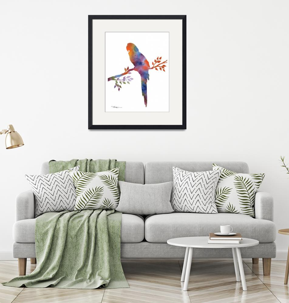 """Macaw""  (2015) by k9artgallery"