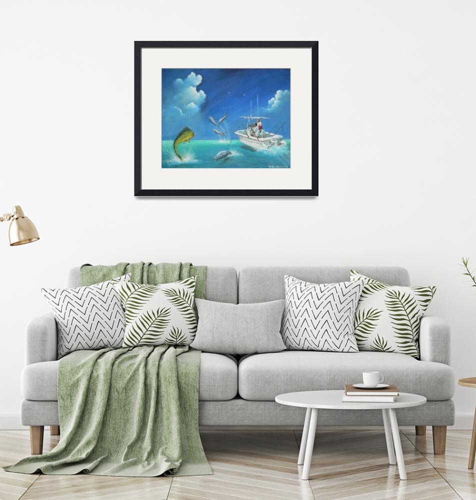 """""""Fishing in the Bahamas""""  by sgnarts"""