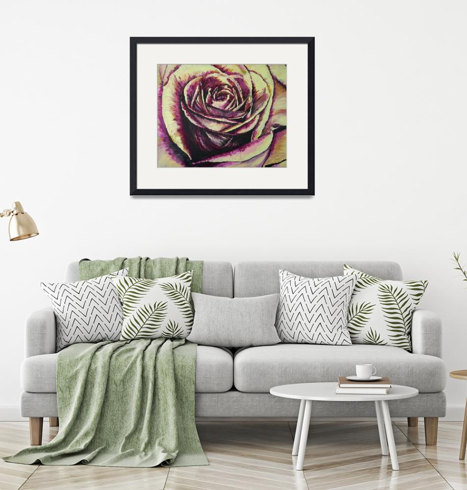 """""""ROSE""""  (2009) by RuthDriedger"""