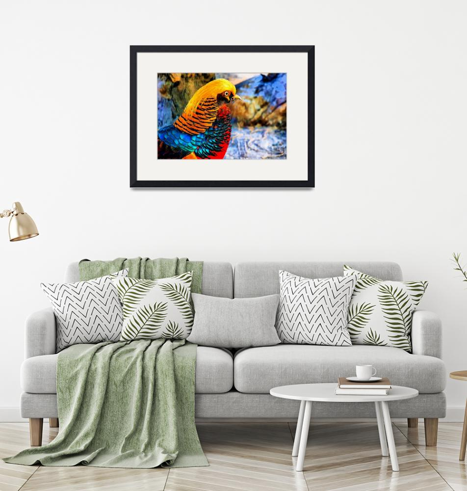 """""""Golden Pheasant""""  by Art_by_Lilia"""