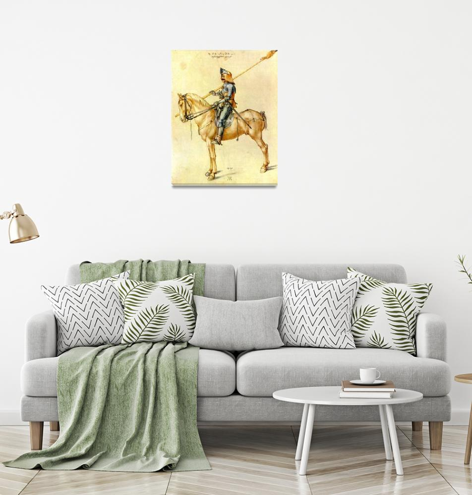 """""""The Horse Rider""""  by ArtLoversOnline"""