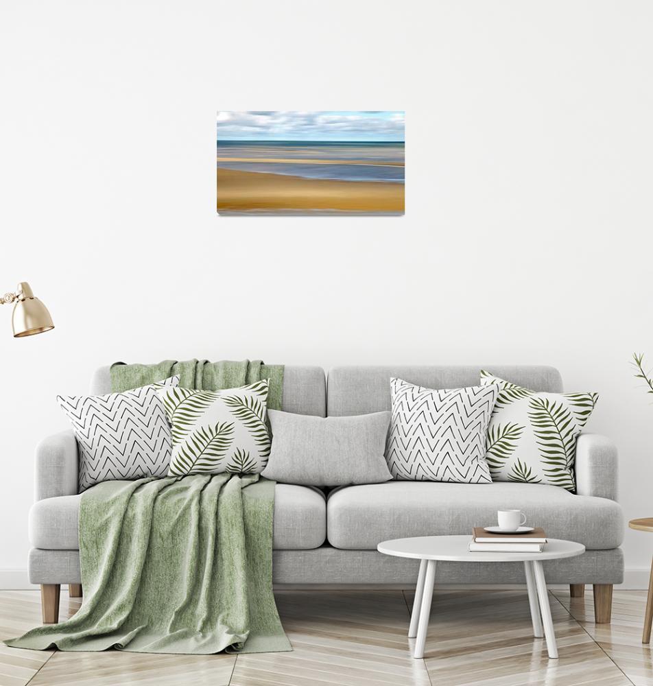 """Cape Cod Flats Panorama""  (2014) by ChrisSeufert"